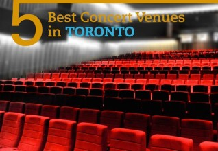 Five best concert venues in Toronto
